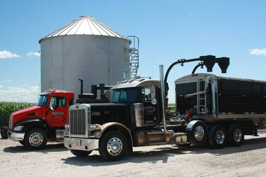 grain vaccing and transportation
